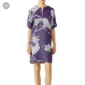 Nina Ricci bird print shift dress
